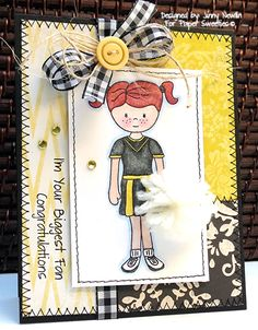 Designed by Jinny Newlin using Emma and Rah-Rah! stamp sets from www.PaperSweeties.com