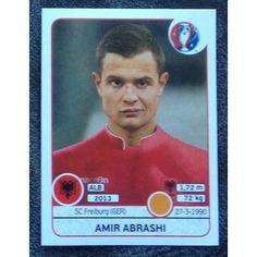 Football Soccer Sticker Panini UEFA Euro 2016 #77 Albania