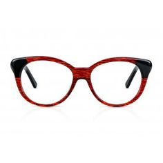 c742e00744 THELMA in Red Velvet. The thick frame with feminine flair is made from high-