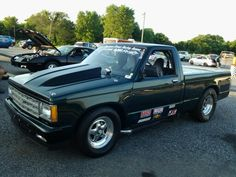 Chevy ,went , 134 mph at the mi Cecil County Dragway,Md Small Trucks, Mini Trucks, S10 Truck, Chevy Luv, Sport Truck, Old School Cars, Classic Chevy Trucks, Custom Paint Jobs, Square Body