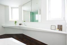 salle de bain avec déco scandinave