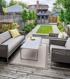 Small Backyard Ideas Enlarging Your Limited Space. One of the good backyard styles is the small backyard ideas with grass texture design. Adding some...