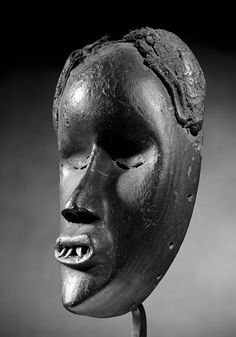 "Dan Mask, Ivory Coast, Liberia - Schoffel Fabry - Exhibition: ""Beyond the Mask""✖️No Pin Limits✖️More Pins Like This One At FOSTERGINGER @ Pinterest✖️"