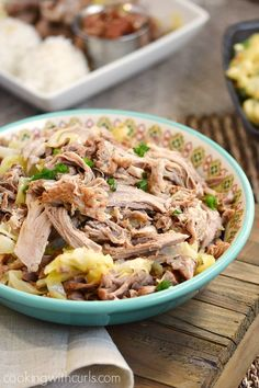 Instant Pot Kalua Pork with cabbage | cookingwithcurls.com