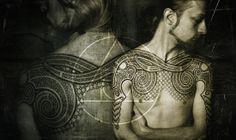 Peter Madsen is a Danish artist reviving the Viking ethnic tattoo art. Ethnisches Tattoo, Thor Tattoo, Chest Tattoo, Viking Tribal Tattoos, Ethnic Tattoo, Tattoos Mandalas, Widder Tattoo, Scandinavian Tattoo, Nordic Tattoo