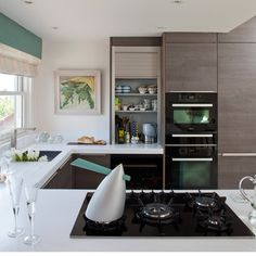 Streamlined Modern Kitchen Design