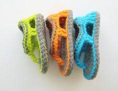 Trekkers Crochet Pattern, Flip Flop Sandals for Baby Boys, 0-12 months
