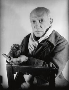 Picasso, with the owl. Yes. That's right. The owl.