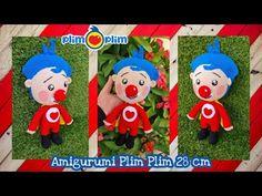 Amigurumi Payaso Plim Plim a crochet | 1ra parte Cuerpo | MariaDCrochet - YouTube