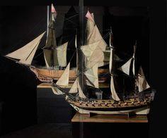 Velieri, souvenir di viaggio, Museo Stibbert, Firenze