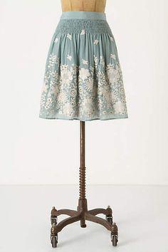 Sagebrush Skirt - anthropologie.com