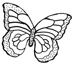 Idea:  butterfly pattern to cut out of scripted paper to make a butterfly garland or place randomly on a twig wreath