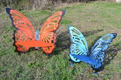PRICE REDUCED midsize  butterfly bench is now by abrstractsteel, $320.00