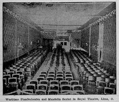 Royal Theater Interior Lima Ohio 1913