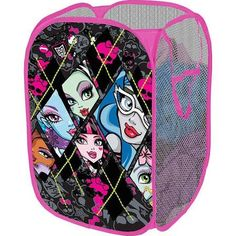 Amazing Monster High Bedroom Basket   Google Search
