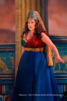 Brenda Harris as Abigaille, presumed daugher of Nabucco in the Minnesota Opera production of Nabucco.