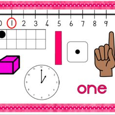 Numbers 1 to 10 Worksheets: Number of the day worksheets) Worksheets, Numbers, Day, Literacy Centers, Numeracy, Countertops