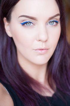 motd blue breeze isadora summer sommar blå eyeliner