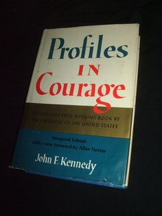1961 JFK Profiles in Courage Book by saltsmansoap on Etsy, $9.99