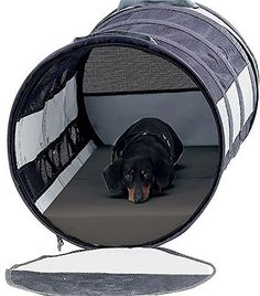 Petego Pet Tube Car Kennel Small