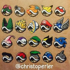 """958 Likes, 19 Comments - Christopher Tang (@christoperler) on Instagram: """"Revisiting my old shell collection. Miss making these! All original designs. Please ask if you…"""""""