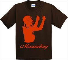 "Johnny Manziel /""Manzieling/"" Texas A /& M shirt Jersey TANK TOP"