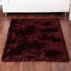 Balotelli Choc Red Modern Rug By Ultimate Rug Red Rugs, Modern Rugs, Shaggy Rugs, Period, Sparkle, Nice, Home Decor, Products, Red Carpets