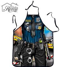Funny Cooking Kitchen Apron Sexy Dinner Party Baking Apron delantal cocina For Woman And Man delantales BBQ Party Cartoon Aprons