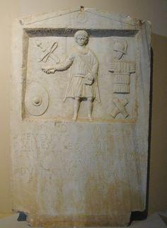 Tombstone of Severius Acceptus of VIII Augusta (date??)