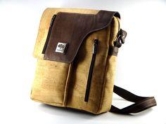 Cork Shoulder Bag - FREE SHIPPING WORLWIDE - Vegan Eco-Friendly Christmas Gift Idea is available at $129.50 https://www.etsy.com/listing/253649989/cork-shoulder-bag-free-shipping-worlwide?utm_source=socialpilotco&utm_medium=api&utm_campaign=api  #bagsandpurses #messenger