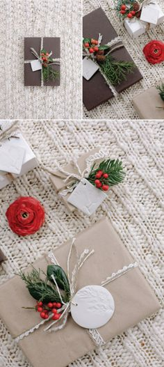 Artful & Natural Scandinavian Gift Wrapping: Trouvé Magazine