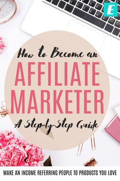 Want to make money referring people to products you love? Learn how to become an affiliate marketing: how much money you can make, what you have to do, what skills you need, and step-by-step how to get started. Make Money Blogging, Make Money From Home, How To Make Money, How To Become, Marketing Program, Affiliate Marketing, Marketing Training, Small Business Resources, Business Ideas