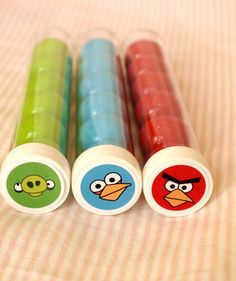 Angry Birds favors