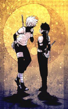 kakashi and yamato anbu days
