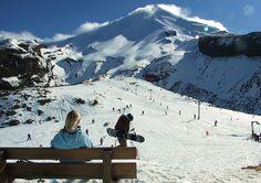 Manganui Ski Field, Mt Taranaki, New Zealand