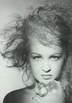 Cyndi Lauper by Matthew Rolston (loved her recurring guest spots on 'Bones')
