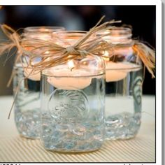 How cute are these for a party or wedding.