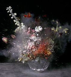 Ori Gersht Explodes Onto the Art Scene  (See corresponding VIDEO Art Piece!)