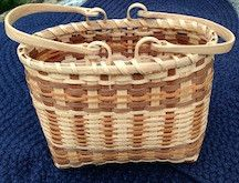 Handmade White Oak Basket http://medicinemancrafts.com/collections/basketry/products/white-oak-basket