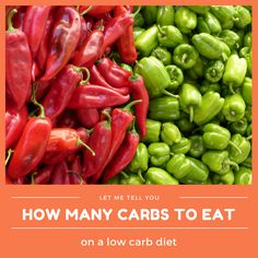 How many carbs you should eat on a low carb diet – Keto Tips & Recipes Swallow Food, Dehydrated Vegetables, Red Vegetables, Fiber Rich Foods, Survival Food, Plantation, Healthy Soup, Healthy Foods, Healthy Eating