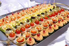 Wedding Appetizers Recipes   Wedding Appetizer and Food Placement Setting for Reception - Happy ...