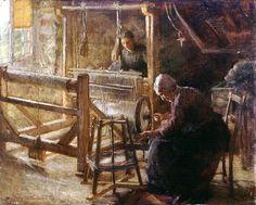 Sydney Strickland Tully. Weaving. 1899