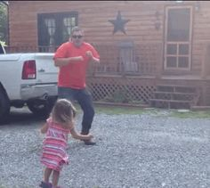 This Video Of A Daddy Daughter Dance-off Is The Best Thing To Come Home To
