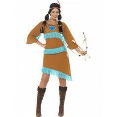 Déguisez vous en princesse indienne lors de votre prochain carnaval....