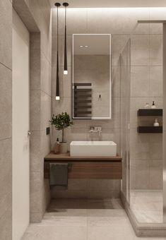 Bathroom Lighting, Minimalism, Bathtub, Mirror, Interior, Furniture, Home Decor, Bathroom Light Fittings, Standing Bath