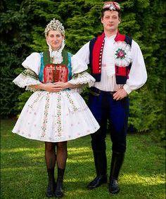 Traditional costume of the Czech Republic. Every region has its folk attire Folk Costume, Costumes, Folk Clothing, Renaissance Era, Folk Fashion, People Of The World, Historical Costume, Beautiful Patterns, Czech Republic