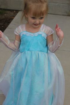 Elsa Dress Inspired from the movie Frozen  with cape  dress up  size 12-18  2T/3T 4,5.6,7,8 Costume, birthday outfit