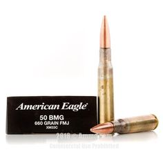 Federal 50 BMG Ammo - 100 Rounds of 660 Grain FMJ Ammunition #50BMG #50BMGAmmo #Federal #FederalAmmo #Federal50BMG #FMJAmmo
