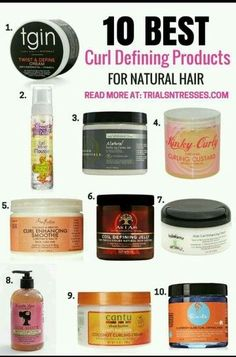 10 Best Curl Defining Products For Natural Hair