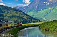 Railroad into the Mountains: The Coastal Classic, www.AlaskaRailroad.com